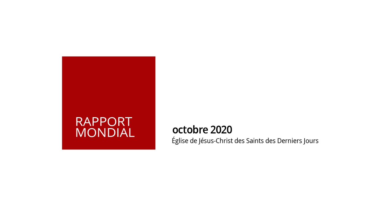 Rapport mondial d'octobre 2020